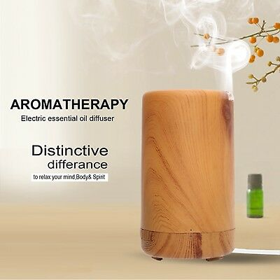 Air Humidifier Aromatherapy Purifier Aroma Diffuser LED Essential Oil