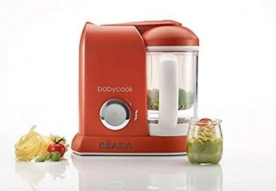 BEABA Babycook 4 in 1 Steam Cooker and Blender, 4.5 cups, Dishwasher Safe, Pa...