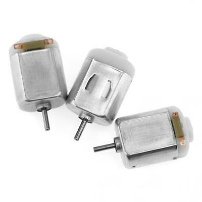 3pcs 130 Small DC Motor 2mm Shaft Diameter 1 to 6 Volts For Model Toys Plane Etc