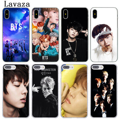 Phone Covers For iPhone XS Max XR X 8 Plus 6 6S 5S 5 4S 4 7 Back Case Cover BTS