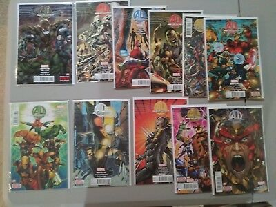AGE OF ULTRON COMPLETE SET #1,2,3,4,5,6,7,8,9,10 and BOOK 10 AI....ALL VF+ COND.