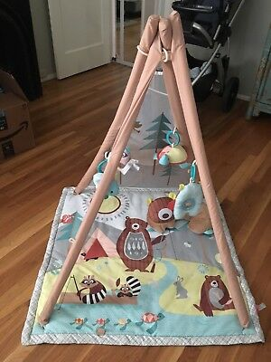 Excellent Skip Hop Baby Infant and Toddler Camping Cubs Activity Gym and Playmat