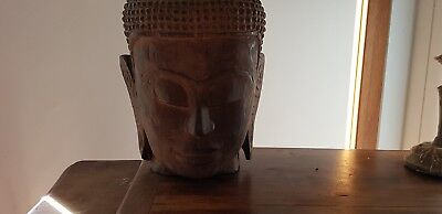 Antique Cambodian Buddha head