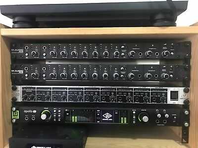 TWO x M-Audio Profire 2626 Interfaces - 16 direct mic lines for multitrack!