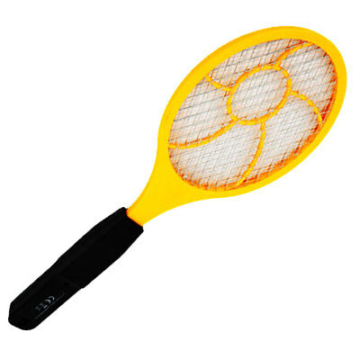Electric Mosquito Swatter Flyswatter LH Fly Bug Zappers Trap Control Practical