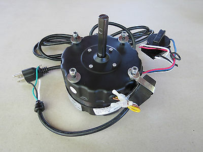 "TPI Electric Fan Motor, 1/8hp 120V 2.2 Amp 3-Speed, 18"" , 24"", Replacement"