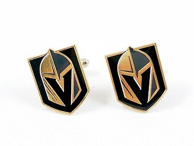 Las Vegas Golden Knights Cufflinks -- NHL Hockey Cuff Links Nevada