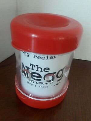 The Negg By Airigan Solutions Egg Peeler Hard Boiled Color Red