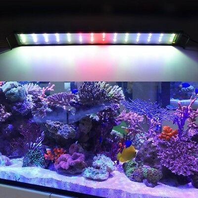 Aquarium Lights Fish Tank Lighting LED Marine Light Full Spectrum Aquariums lamp