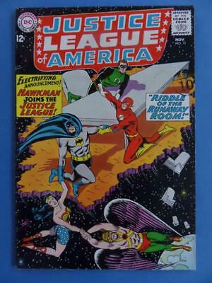 Justice League America 31 1964 Hawkman Joins! High Grade!