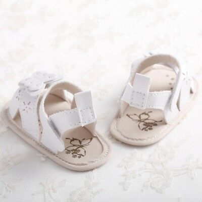 Summer Baby Shoes Infant Girls Toddler Flower Shoes Butterfly Princess Sandals