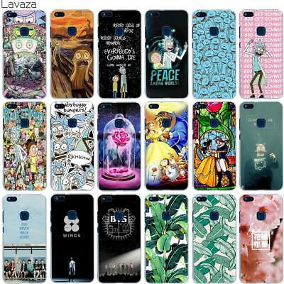 R&M BTS Phone Case Cover For Huawei P10 P9 P8 Lite P Smart Mate 10 Lite Pro
