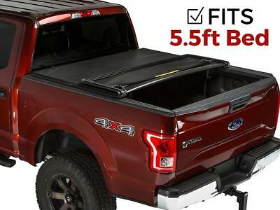 Premium Roll&Lock Tonneau Cover For 2015-2019 Ford F-150 5.5' Bed