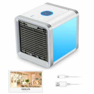 Mini Air Conditioner Personal Space Cooler Quick & Easy Way Cool Any Space