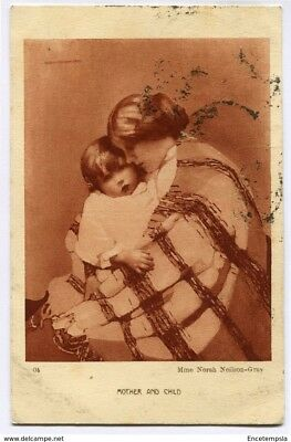 CPA - Carte postale - France -  Art - mother and Child - Maman et Enfant - 1926