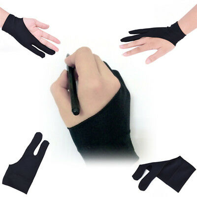 Professional .Size Artist Drawing Glove for Graphic Tablet Right/ Left Hand H&T