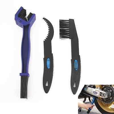 Cycle Brake Chain Gear Dirt Remover Scrubber Brush Cleaning Tools For Kawasaki