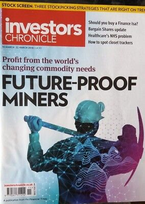 Future-Proof Miners, Investors Chronicle, 16-26 March 2018