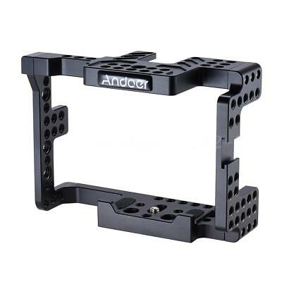 Andoer Aluminum Alloy Camera Cage for Sony  A7II A7RII A7SII ILDC Cameras R6U0