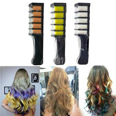 Temporary Hair Chalk Color Comb Dye Kits Disposable Cosplay Party Hairs Dyeing Y