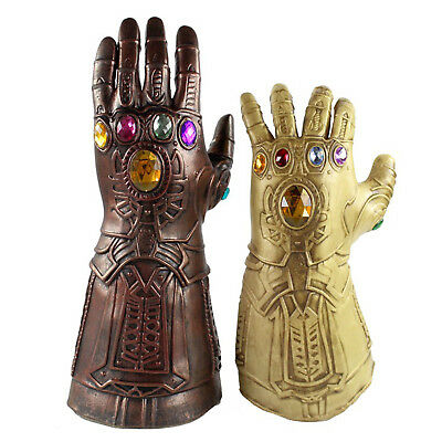 Thanos Infinity Gauntlet Glove Cosplay Infinity War Avengers 3 Props Toys Gifts