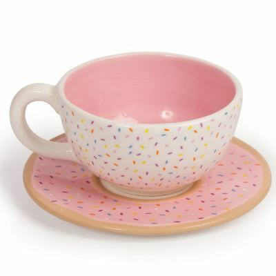 Donut Cup and Saucer Afternoon Tea Set