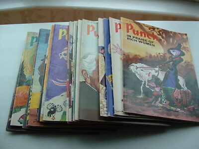 PUNCH MAGAZINE bundle job lot from the seventies