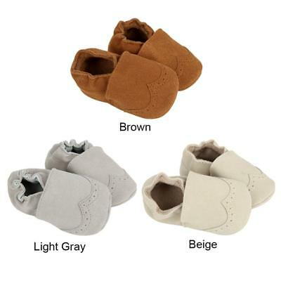 Infant Newborn Baby Boy Girl Soft Sole Leather Pram Shoes Trainers 0-18 Months