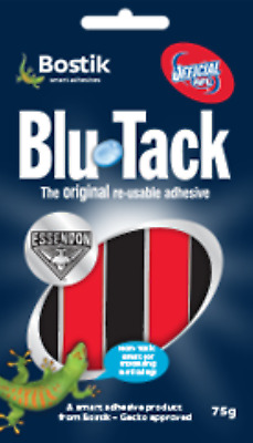 Bostik Blu Tack | RED and BLACK | ESSENDON FOOTBALL CLUB | Official AFL product