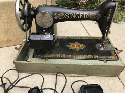The Singer Manufacturing Co: Vintage Singer Sewing Machine #G7146889 No. 66
