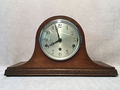 Westminster Napoleon Hat Mantel Chime Clock
