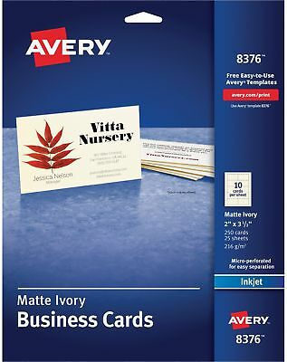 Geographics printable business cards matte 3 12x2 1000pk white avery printable microperf business cards inkjet 2 x 3 12 ivory solutioingenieria Choice Image