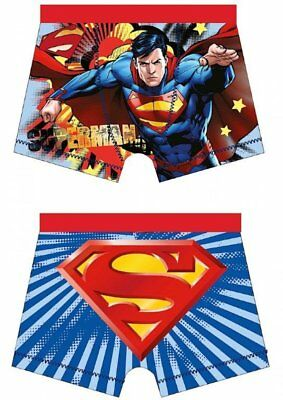 Superman Boxers Shorts Pants Trunks Brief Boys Character Underwear