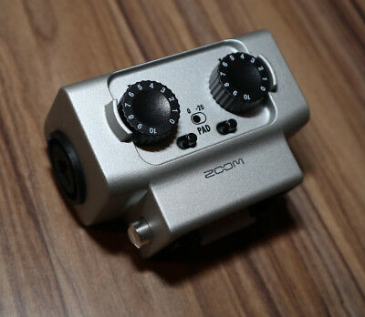 Zoom EXH-6 XLR/TRS Combo Capsule to suit H6, F4, F8 Recorders