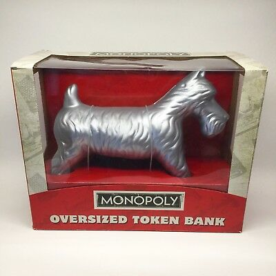 Collector's Edition USAopoly MONOPOLY OVERSIZED SCOTTY DOG TOKEN Piggy Bank