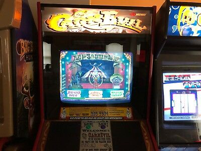 Carnevil Full Size Arcade Shooting Game WORKS GREAT!