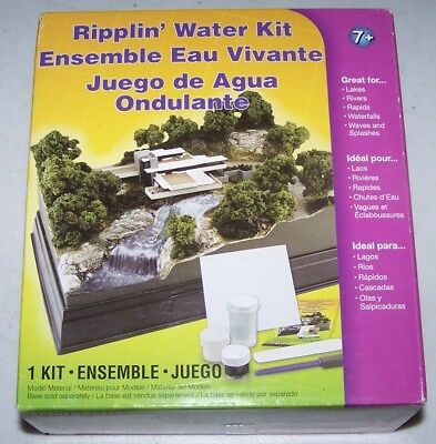 Woodland Scenics Scene A Rama RIPPLIN' WATER KIT NIB L18-254