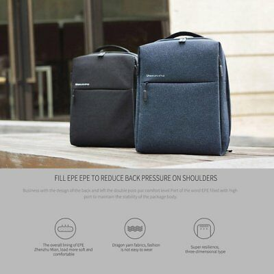 Xiaomi Mi Waterproof Travel Backpack Urban Casual Life Style City Bag Office NP
