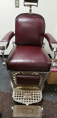 Antique Paidar Barber Chair