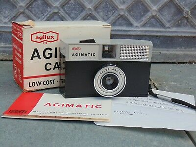 Agimatic agilux camera with box and instructions