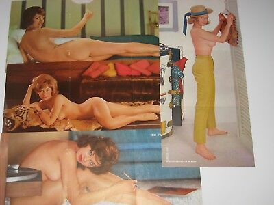 4 - Vintage Old Playboy Playmates From 1961 - Very Nice