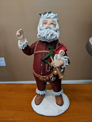 Duncan Royale Nast History of Santa 1983 LE 3199 of 10,000 RARE Great Condition!