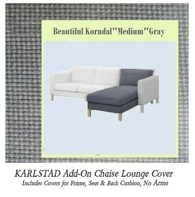 Karlstad Chaise Cover on headboard cover, sleep cover, bookcase cover, dresser cover, armchair cover, glider cover, chandelier cover, mirror cover, carpet cover, wood cover, hammock cover, canopy cover, leather cover, rocker cover, storage cover, swing cover, bed cover,