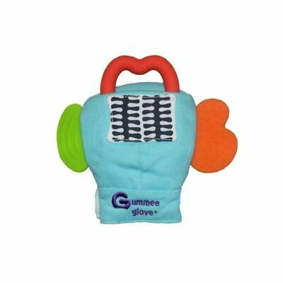 Gummee Glove Plus Turquoise Teething Mitten Silicone Teether Ring 6-12 Months