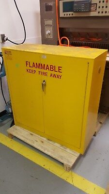 ProtectoSeal 30 Gallon Storage Cabinet for Flammable Liquids
