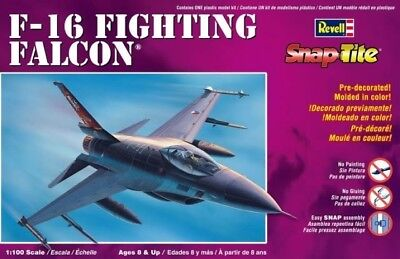 (RVM1368) - Revell Monogram Snaptite 1:100 - F-16 Fighting Falcon