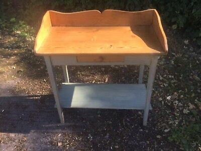 Antique Pine Small Washstand/desk
