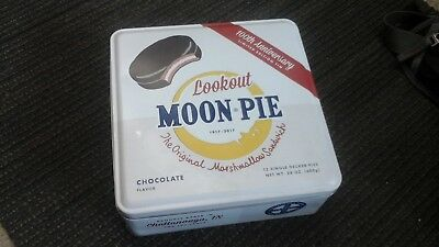 Moon Pie 100Th Anniversary Limited Edition Tin Lookout Chattanoga Bakery