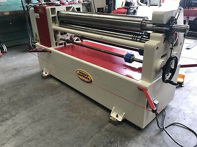 Morgan Rushworth bending Rollers 1300mm X 150mm 5.5mm Capacity