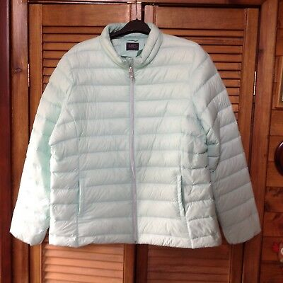 M&S lightweight jacket. Jade colour. Size 20